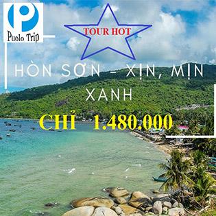 Tour Hòn Sơn 2N2Đ Cực Hot – Xe Giường Nằm – Khám Phá Đỉnh Ma Thiên Lãnh Huyền Bí – Tiên Cảnh Giữa Biển Khơi