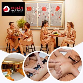 Buffet Massage Body 10IN1 Cho 1 Người + Buffet Món Ngọt 20 Món Sử Dụng Không Giới Hạn, Giá Sốc - Chuẩn Massage & Spa