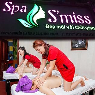 75 Phút - Trọn Gói 10 Bước Massage Thụy Điển Với Tinh Dầu, Bẻ Thái + Foot + Vai, Gáy + Ấn Huyệt Trẻ Hóa Da Tại S' Miss Spa