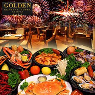 Buffet Tối Lễ 30/4 Xem Bắn Pháo Hoa Tầng 17 - Golden Central Hotel Saigon 4*