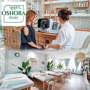Buffet 90 Phút Điện Di HA, Vitamin C, Sạch Mụn, Trắng Da, Se Khít Lỗ Chân Lông Tại Oshora Clinic & Spa