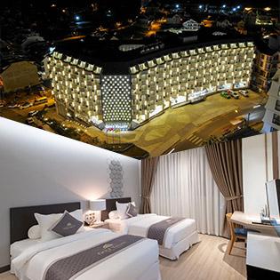 Golf Valley Hotel 4* Đà Lạt 2N1Đ Phòng Premium Deluxe – Ăn Sáng Dành Cho 2 Khách
