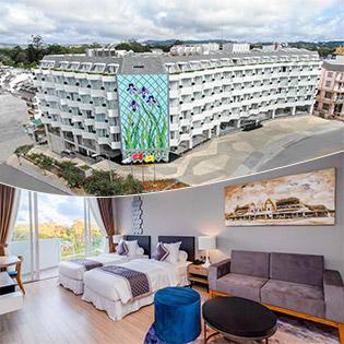 Golf Valley Hotel 4* Đà Lạt 2N1Đ Phòng Deluxe Double – Ăn Sáng Dành Cho 2 Khách