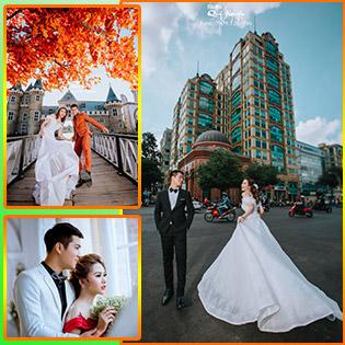 Chụp Ảnh Cưới Ngoại Cảnh Thành Phố - Studio Quý Nguyễn - Không Phát Sinh Chi Phí