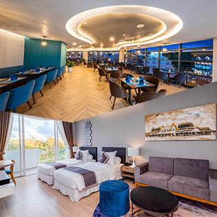 Golf Valley Hotel 4* Đà Lạt 2N1Đ Phòng Superior Double – Ăn Sáng Dành Cho 2 Khách