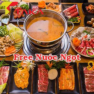 Taka BBQ - CN Bình Thạnh - Buffet Nướng & Lẩu Bò Mỹ, Hải Sản Chuẩn Vị Hàn Quốc Tại Taka BBQ