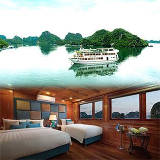 Khám Phá Vịnh Lan Hạ, Cát Bà Với Du Thuyền Maya Cruise Tiêu Chuẩn 4 Sao - Miễn Phí Kayaking - 2N1Đ Dành Cho 01 Khách