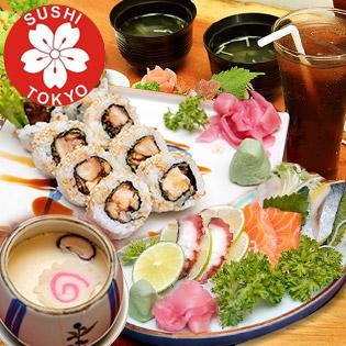 Combo 8 Món Nhật Sushi Sashimi Cao Cấp Cho 02 - 03 Người Tại Sushi Tokyo
