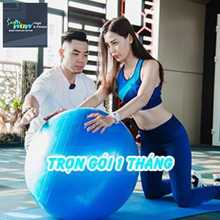SannyWow Fitness & Yoga 5* Trọn Gói 01 Tháng  Gym, Yoga Không Giới Hạn Số Buổi Tập Chuẩn Châu Âu + Suất Ăn 7IN1 Độc Quyền!