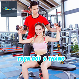 SannyWow Fitness & Yoga 5* Trọn Gói 06 Tháng Tập Luyện Gym, Yoga 7IN1 Chuẩn Châu Âu + Suất Ăn 7IN1 Độc Quyền!