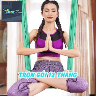 Trọn Gói 12 Tháng Tập Luyện Gym, Yoga 7IN1 Cho Người Bận Rộn + Suất Ăn Dinh Dưỡng 7IN1 SannyWow - Chỉ Có Tại Hotdeal!