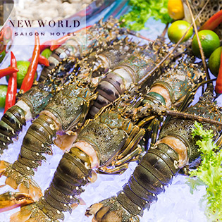 Áp Dụng Lễ - Buffet Tối Hải Sản Tôm Hùm Tại Parkview Buffet - Khách Sạn 5 Sao New World SaiGon Hotel