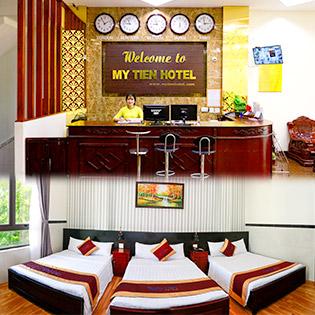 Mỹ Tiến Hotel 2*– 2N1Đ Phòng Deluxe Dành Cho 02 Khách – Nằm Trên Khung Đường Nhộn Nhịp Bậc Nhất TP Quy Nhơn, Gần Khu Thương Mại Mua Sắm – Không Phụ Thu Cuối Tuần