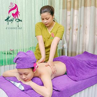15 Bước 90 Phút Massage Body, Foot Đá Nóng/ Điều Trị Mụn, Giảm Thâm Công Nghệ Cao Độc Quyền Tại Huệ Spa