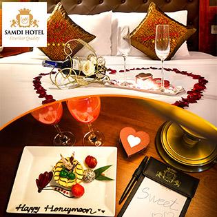 Honey Moon - Samdi Hotel 4* Đà Nẵng 2N1Đ – Phòng Samdi King - Bao Gồm Bufet Sáng- Tặng Đón Hoặc Tiễn Sân Bay. Không Phụ Thu Cuối Tuần