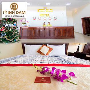 Minh Đạm Hotel 3* Biển Phước Hải Vũng Tàu 2N1Đ - Bao Gồm Ăn Sáng - Dành Cho 02 Người