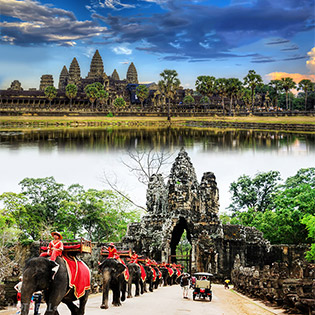 Tour Campuchia 4N3Đ – Khám Phá Di Sản Thế Giới - Angkor – Siem Reap – Phnom Penh – Tham Quan Hoàng Cung – Chùa Vàng – Chùa Bạc