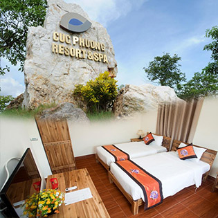 Cúc Phương Resort 4* Ninh Bình - 2N1Đ Phòng Standard Villa Double/ Twin Cho 2 Người, Miễn Phí Tắm Khoáng
