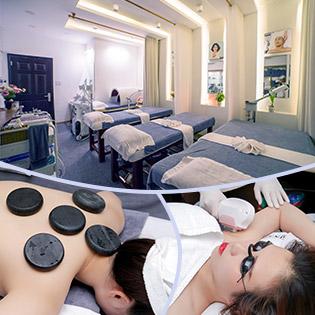 Viện Tái Tạo & Trẻ Hóa Làn Da ACE -  Combo 120' Massage Body Đá + Trẻ Hóa Da CN Pháp Hoặc Gói 10 Lần Triệt Lông IPL Bảo Hành 1 Năm