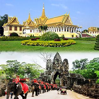 Tour Liên Tuyến Campuchia – Thái Lan 5N4Đ Giá Siêu Tốt - Phnompenh – Bangkok – Pattaya - Dịch Vụ Cao Cấp 4 Sao