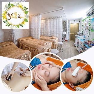 Thỏa Sức làm Đẹp Tại Ylang Spa (Miễn TIP) Lựa chọn 1 trong  4 Dịch Vụ: Massage Thư Giãn Toàn Thân/ Điều Trị Mụn Oxyjet/ Thải Độc Organic/ Điện Di Vitamin C