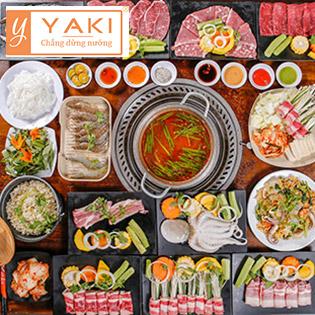 Buffet Yaki 3 - Menu Premium Gần 80 Món BBQ Bò Mỹ, Hải Sản & Lẩu Cao Cấp