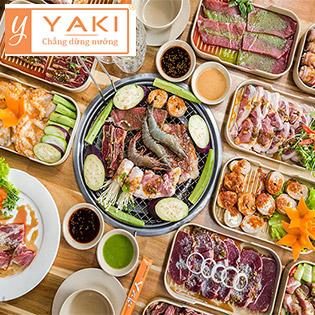 Buffet Yaki 4 - Menu Premium Gần 80 Món BBQ Bò Mỹ, Hải Sản Cao Cấp