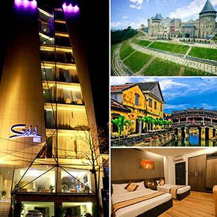 HOT !!! PACKAGE 3N2Đ Bà Nà - Ngũ Hành Sơn - Hội An - Gold Hotel Đà Nẵng Miễn Phí Sân Bay - Dành Cho 01 Người