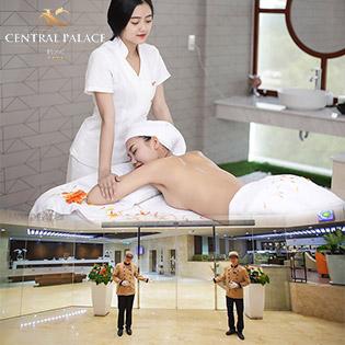 Central Palace Hotel 5* Trọn Gói Spa Thư Giãn Vip Từ A - Z Sang Trọng Bậc Nhất Sài Gòn