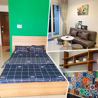 Sky Center Apartment – 1 Phòng Ngủ Luxury Homes Dành Cho 4 Người 2N1Đ Có Hồ Bơi Tràn Bờ, View Hồ Bơi Xanh - Không Phụ Thu Lễ & Cuối Tuần