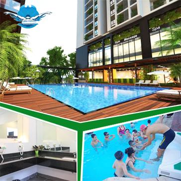 Vé Bơi 3 Lượt Tại Bể Bơi Cao Cấp Ngoài Trời Long Khánh Swimming Pool