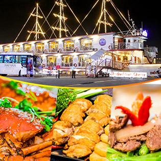 Set Ăn Tối Trên Tàu 5 Sao Indochina Queen