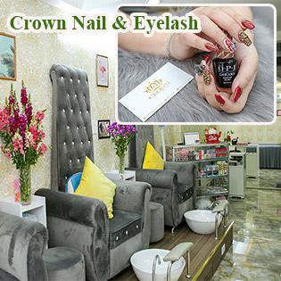 Combo Trọn Gói Làm Đẹp + Chăm Sóc Chuyên Nghiệp Cho Móng Tay Và Chân Tại Crown Nail & Eyelash