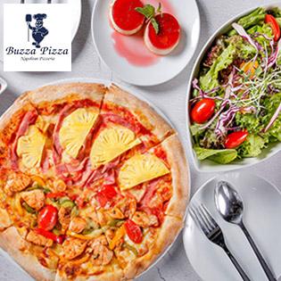 Hệ Thống 02 Chi Nhánh Buzza Pizza - Set Couple - Cho Lần Hẹn Hò Với 3 Món