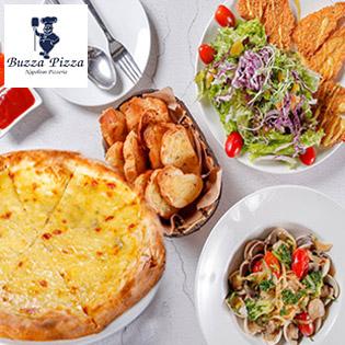 Buzza Pizza - Giờ Vàng Giá Sốc - Combo Dành Cho 3 - 4 Người