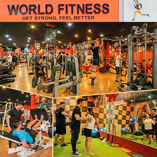 World Fitness Quận 11 - Trọn Gói 01 Tháng Tập Gym Không Giới Hạn
