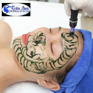 Miễn Tip 5 Combo 90': Cấy Tảo Xoắn/ Oxy Tươi Trẻ Hóa Mặt/ RF Xóa Nhăn Nâng Cơ Mặt/ Trị Mụn/ Hấp Sáng Body + Massage Body Aroma - Trân Spa