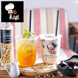 Siêu Hot - SL Có Hạn - 01 Trong 02 Thức Uống Mùa Hè: Trà/ Trà Sữa Tại Bếp Kafé