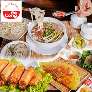 Combo Phở Tái/ Phở Gà + 01 Chè Dành Cho 01 Người Tại Phở Công Restaurant