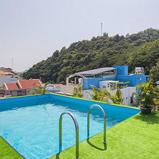Blue Sea Hotel & Apartment - Căn Hộ 2 Phòng Ngủ + 1 Phòng Khách 2N1Đ - Có Hồ Bơi – Gần Biển – Không Áp Dụng T6, T7 & Ngày Lễ