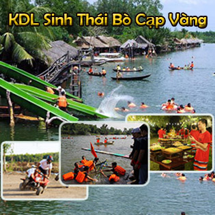 Combo 2 Vé Vào Cổng KDL Sinh Thái Bò Cạp Vàng