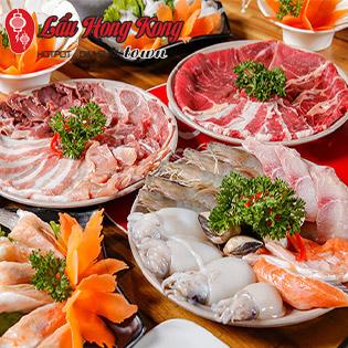 Buffet Lẩu Hong Kong Bất Tận, Miễn Phí Nước, Tráng Miệng - Lẩu Hong Kong Town