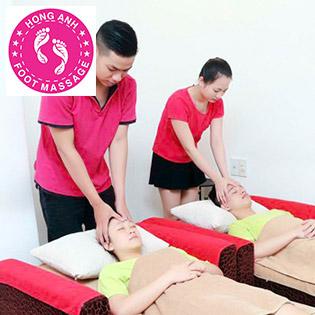 (90') Massage Body + Foot + Ngâm Chân + Đắp Mặt Nạ - Hồng Anh Foot Massage
