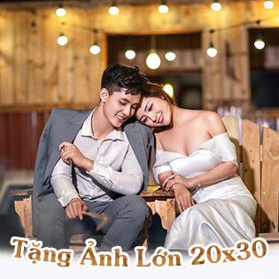 Siêu Hot Chụp Thử Ảnh Cưới Làm Cô Dâu Chú Rể/ Ảnh Nghệ Thuật Phong Cách Hàn Quốc – Tặng 1 Ảnh Lớn (20 X 30) Tại Helen's Bridal