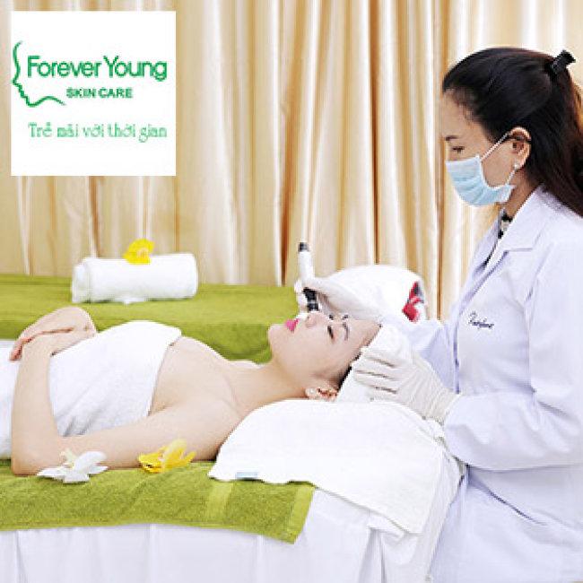 Lăn Kim Mesotherapy Trắng Da, Sạch Mụn, Nám Với 40 Vitamin, Khoáng Chất Của Pháp Tại Forever Young Spa