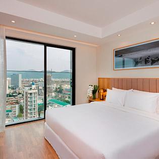 Nagar Hotel Nha Trang 4* - Deluxe City View 2N1Đ, Hồ Bơi Ngoài Trời, Ưu Đãi Xông Hơi Cho 2 Khách