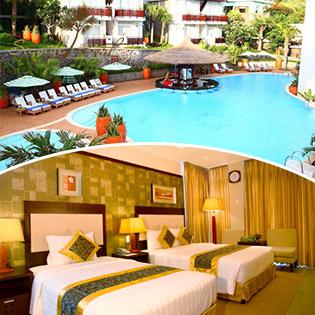 Seaside Resort Vũng Tàu 4* 2N1Đ – Phòng Premium Double Garden – Dành Cho 02 Người Lớn & 02 Trẻ Em - Bao Gồm Bữa Sáng Tự Chọn – Free Trà – Cà Phê – Nước Suối – Free Sử Dụng Phòng Gym - Bể Bơi Ngoài Trời