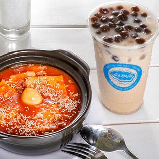 Combo Topokki/ Mì Cay/ Cá Viên Chiên Và Trà Sữa/ Soda/ Trà Trái Cây Siêu Ngon Tại Cloud Food & Milk Tea