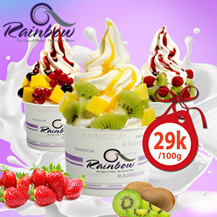 Hệ Thống Rainbow Yogurt 11 CN - Ăn Thả Ga, Không Giới Hạn Voucher