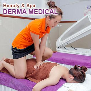 Buffet Spa - 15 Combo Massage Body, Mặt, Giảm Béo, Triệt Lông - Hệ Thống Derma Medical Beauty & Spa